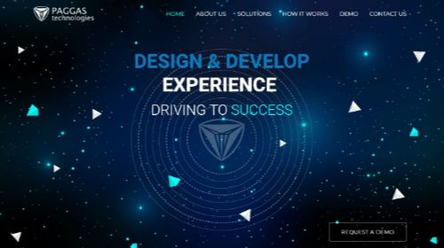 Paggas Technologies - Design & develop experience. Driving to success!