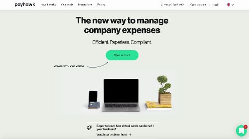 Payhawk Website