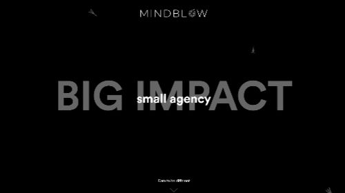 Mindblow agency website